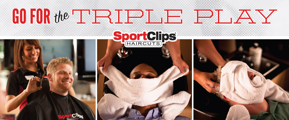 The Sport Clips Haircuts of Edmond Triple Play